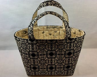 Small Quilted Tote Bag