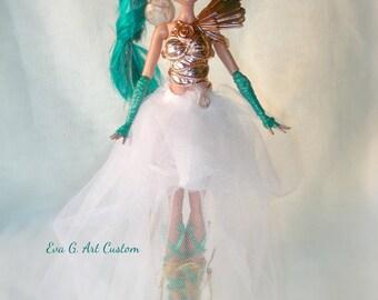 Miss Pegasus, Monster High Custom Ooak.