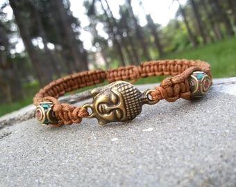 Buddha bracelet Shamballa Men Tibetan bracelet Yoga Men jewelry Antique Tibetan beads bracelet Buddhist Spiritual bracelet mala meditation