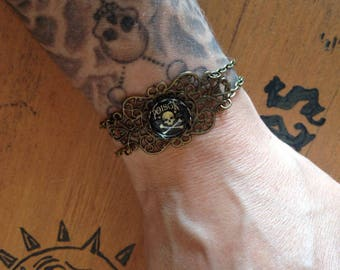 Bronze bracelet 'poison'