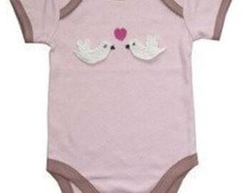 Love Bird Baby Vest
