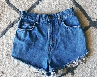 High Waisted Cutoff Shorts