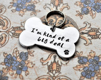 Pet ID Tags - DOUBLED SIDED text