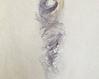 Guardian Series number 9- Fine Art Painting
