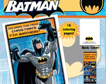 Batman Coloring Book with Crayons