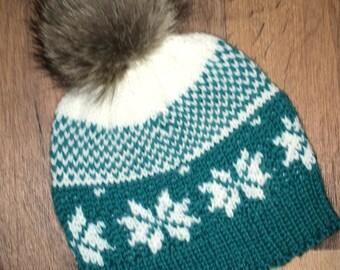 Toque knit baby children 18-24 months