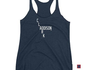 Clark and Addison - Wrigley Field - Chicago Cubs - Women's Tank