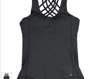 Built in bra top etsy for Shirts with built in sports bra