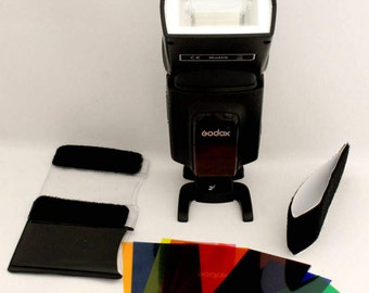 Camera Flash Diffuser Lighting Gel Popup Colour Cards, Free Shipping Australia, Photography Accessories