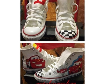 Cars Theme Custom Converse