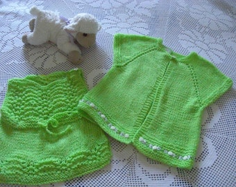 Green girl outfit