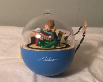 "Vintage Hallmark ""Magic"" Ornament - 1990 Childrens Express"