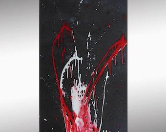 "Sc-Art - abstract & modern / Acrylic painting / 55""x24"""