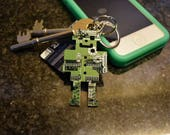 Robot Circuit Board Keychain  Key fob  Fathers Day Gift  Geek Gifts  Computer Nerd Gifts  Software Engineer Gifts  Gifts for him