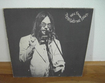 Neil Young Tonights the Night NL incl. inlay