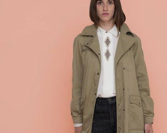 The perfect vintage tan fall jacket