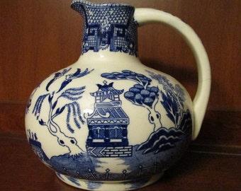 Blue Willow Carafe