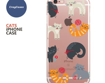 iPhone 6 Case, iPhone 6s Case, Cat iPhone 7 Case, Cat iPhone 6s Plus Case, Cat iPhone 6 Case, Cat iPhone 6+ Case (Shipped From UK)