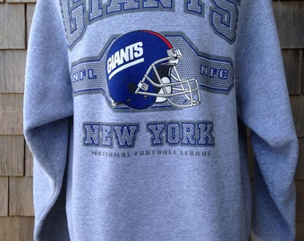 Vintage New York Giants Sweatshirt by Pro Player - Large - NY Giants