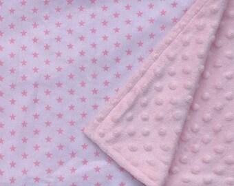 Lightweight baby blanket, summer baby blanket, baby girl blanket, baby shower gift, cotton blanket, pram blanket