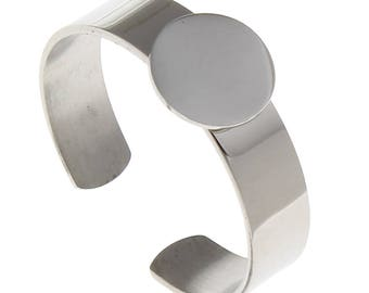 5 x 304 Stainless steel adjustable finger ring