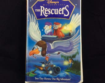 Disney's Masterpiece: The Rescuers - vintage Walt Disney VHS movie