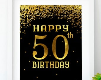 Smart image with regard to 50th birthday signs printable