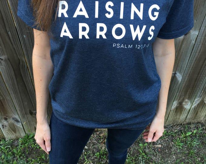 Raising Arrows V-Neck Block