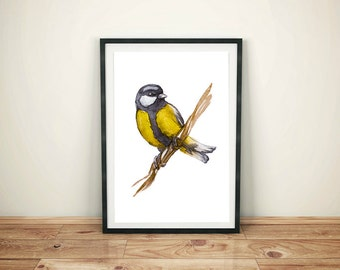 SALE! Bird Print, Bird Printable Art, Printable Wall Art, Home Decor