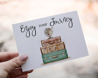 PRINTABLE | Enjoy your Trip | Farewell | Journey | Greeting Card | Card | Cards | Travel | Good bye | Enjoy your Journey | Printable