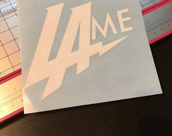 LAme Chargers - LA Chargers - Bolts - Chargers - Football Decal