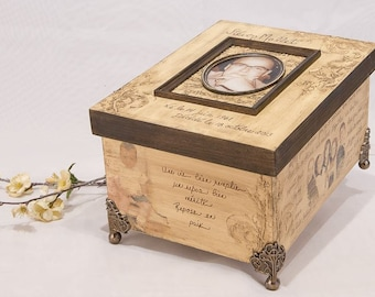 Personalized funeral urn
