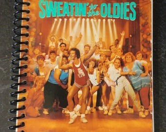 Richard Simmons Sweatin' to the Oldies VHS Journal