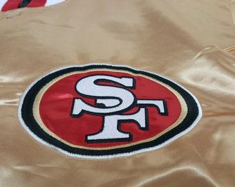 San Franciso 49ers GOLD Satin Jacket