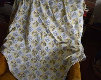 Moose & Bear Pattern Baby Blanket
