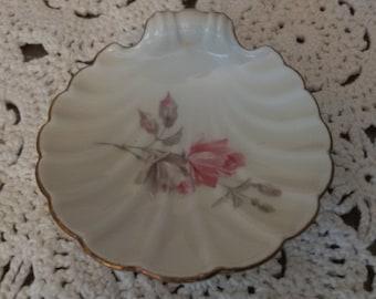 Vintage Alka Kunst Bavaria shell shaped dish pin sweets ring dish