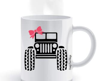 Jeep Girl Coffee Mug