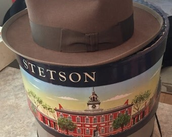 Stetson Whippet 1940's 7 1/8  mint  condition