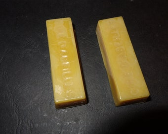 ingot of pure beeswax