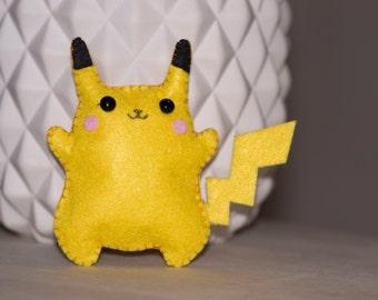 Pokémon Pikachu mini plush felt