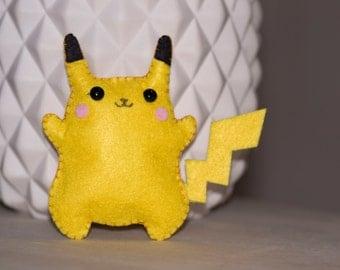 Pokémon Pikachu mini peluche en feutrine