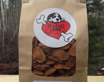 Peanut Butter and Pumpkin Natural Dog Treats 400grams