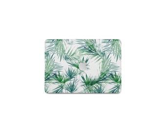 Tropical Leaves Macbook Case