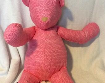 Stuffed teddy bear, handmade teddy bear, soft toy bear