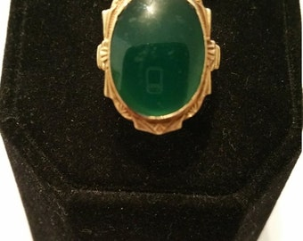 Lovely 14kt Gold and Gemstone Ring - #145