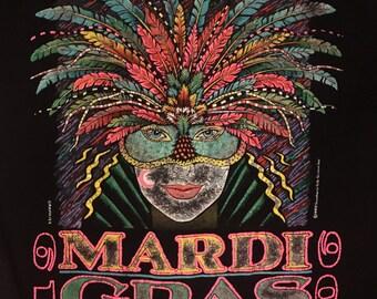 1990 Vintage Mardi Gras T-Shirt
