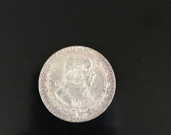 Mexican Peso 1962 10% Silver