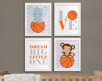 Sports Wall Decor basketball nursery | etsy