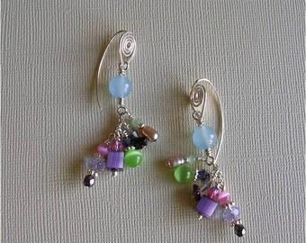 Water Lilly  earrings