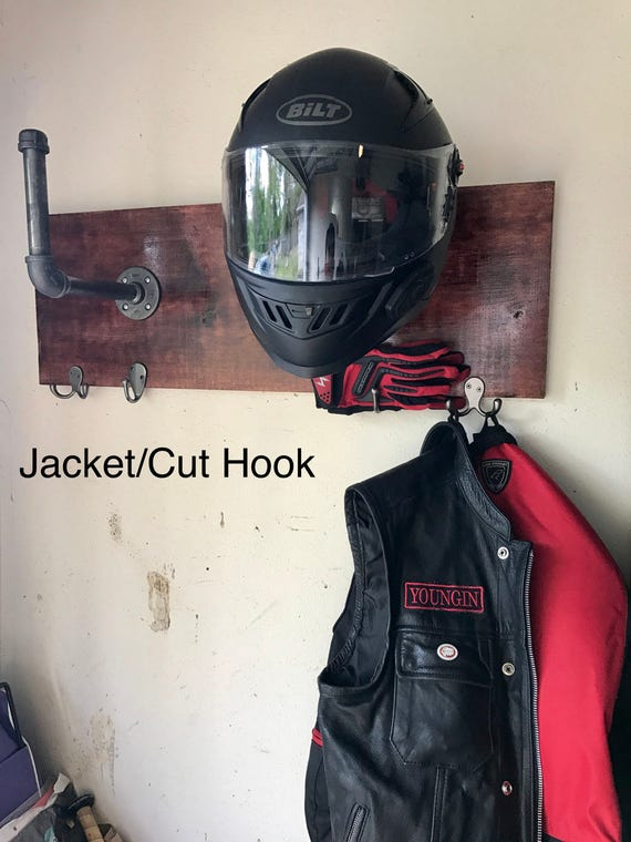 how to use helmet holder on motorcycle